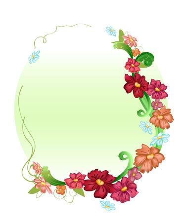 illustration of elegant floral frames Vector