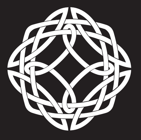 Vector Illustration of Celtic Knot Motif