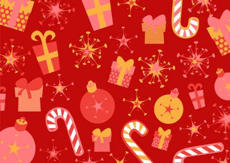 illustration of christmas background Stock Illustration - 9835774