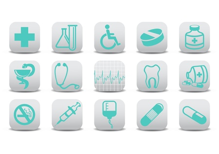 medecine icons .You can use it for your website, application or presentation photo