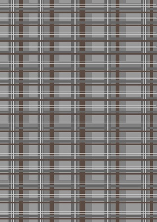 grating: illustration of brown geometric grating retro abstract Background.