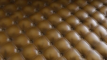 Textured Leather Upholstery Luxury Sofa