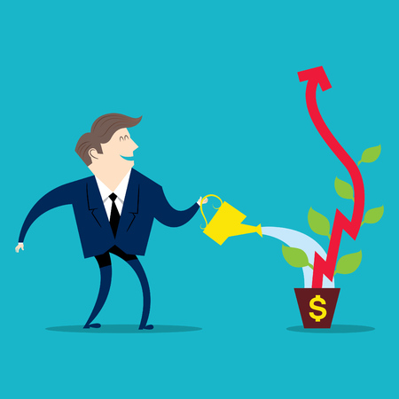 実業家見て金融
