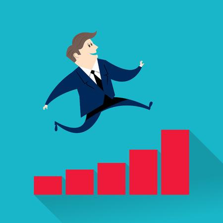 businessperson: businessman improved finances