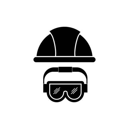 Carpentry, Construction tools icon vector design symbol Ilustrace