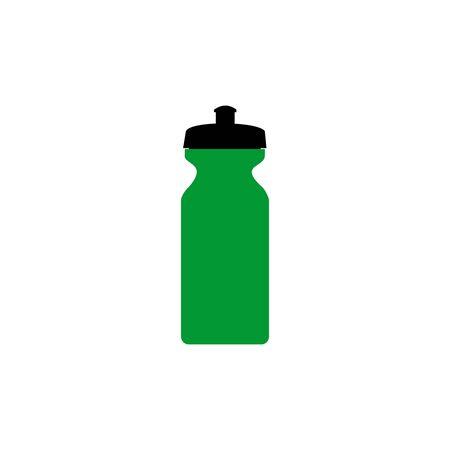 bottle icon vector design symbol of plastic bottle drink Foto de archivo - 140648932