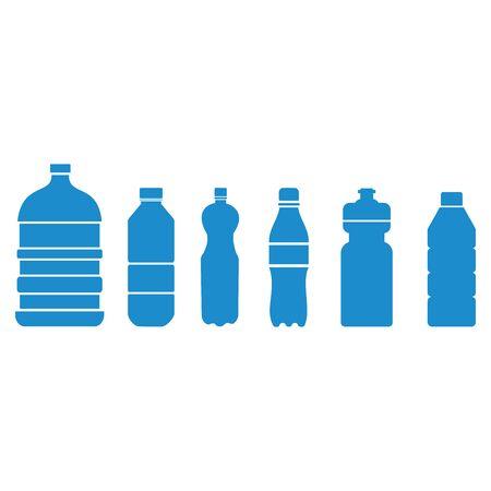 bottle icon vector design symbol of plastic bottle drink