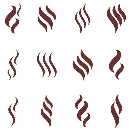 aroma icon vector design symbol Illustration