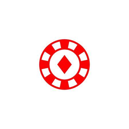 casino icon vector design symbol Banque d'images - 140621085