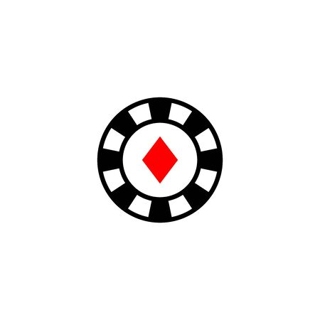 casino icon vector design symbol Banque d'images - 140621083