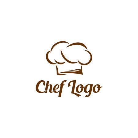 chef logo icon vector design symbol Logó