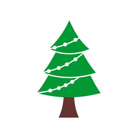 Christmas tree icon vector design symbol Foto de archivo - 140648962