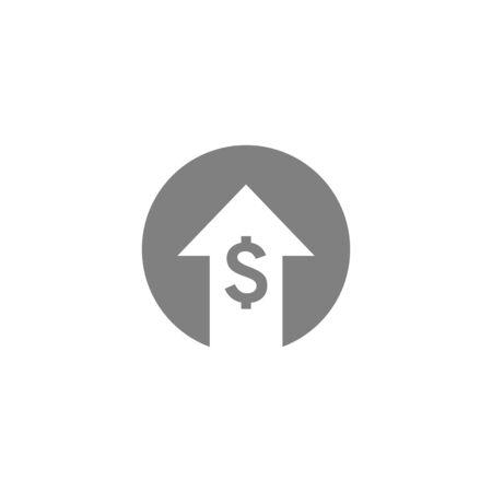 cost icon vector design symbol of finance  イラスト・ベクター素材