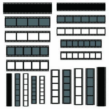 film strip icon vector design symbol Illustration