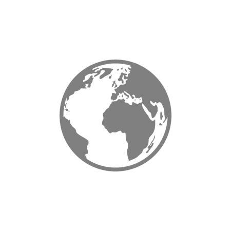 globe icon vector design symbol of go to web