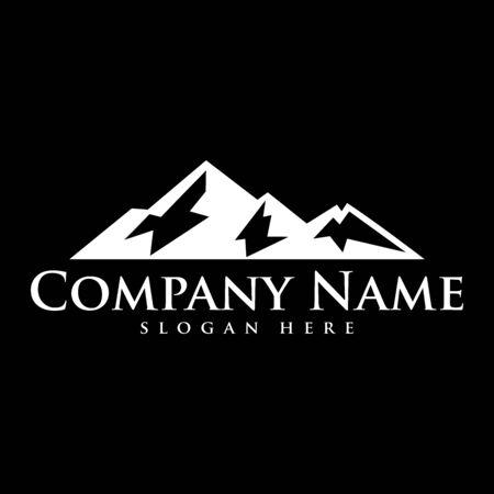 mountain logo icon vector design symbol