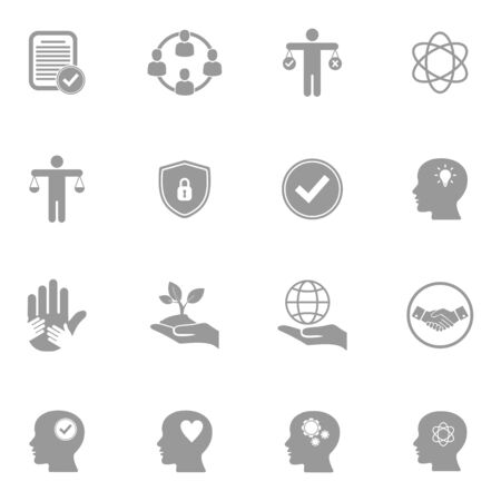 ethic icon vector design symbol