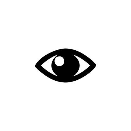 eye icon vector design symbol 向量圖像