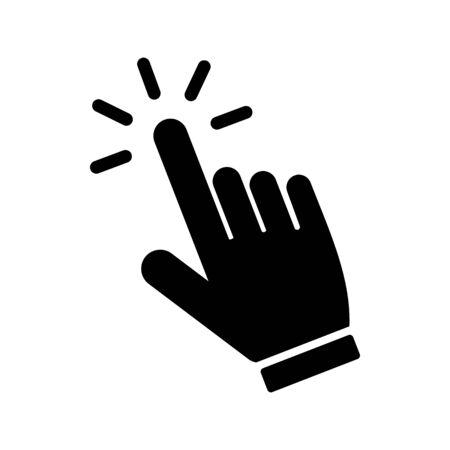 hand cursor icon vector design symbol 일러스트