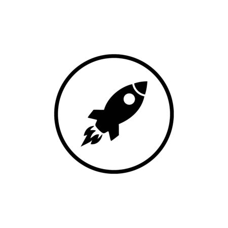 rocket icon vector design symbol