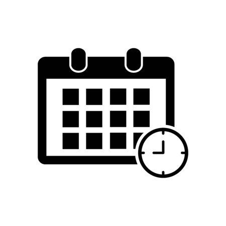 calendar icon vector design symbol
