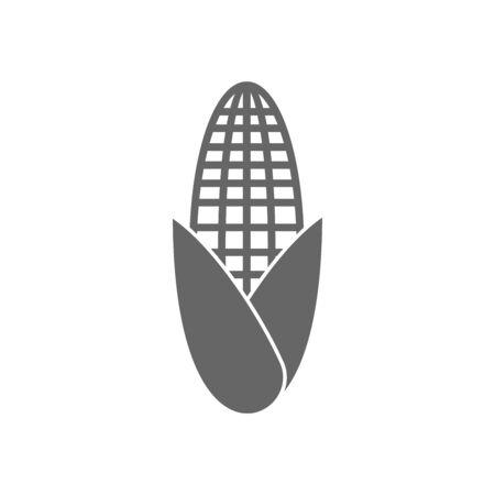 corn, sweetcorn icon vector design symbol