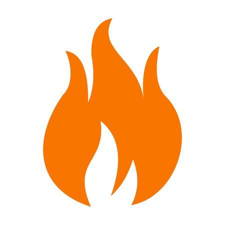 fire flame icon vector design symbol