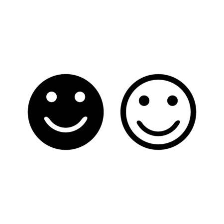 smile emoticon icon vector design symbol Vektorové ilustrace