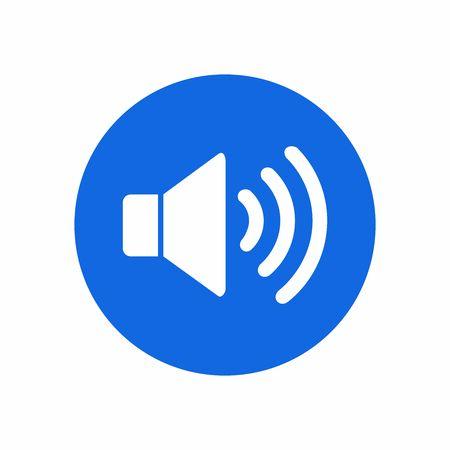 speaker icon vector design symbol 일러스트