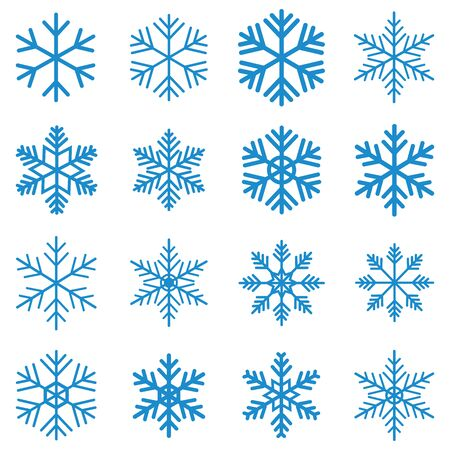 snowflake icon vector design symbol