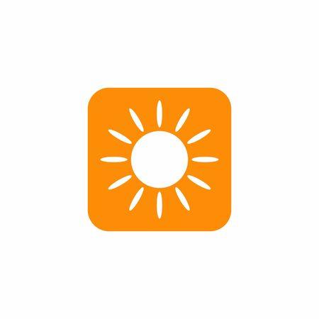 sun icon  design symbol