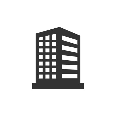 buildings icon vector design symbol
