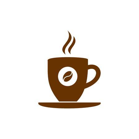 coffee cup icon vector design symbol of cafe or restaurant Vektorgrafik