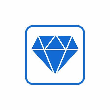 diamond icon vector design symbol