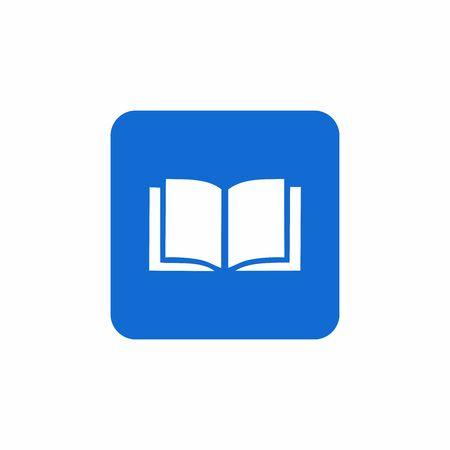 book and library icon vector design symbol