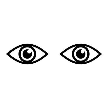 eye icon vector design symbol