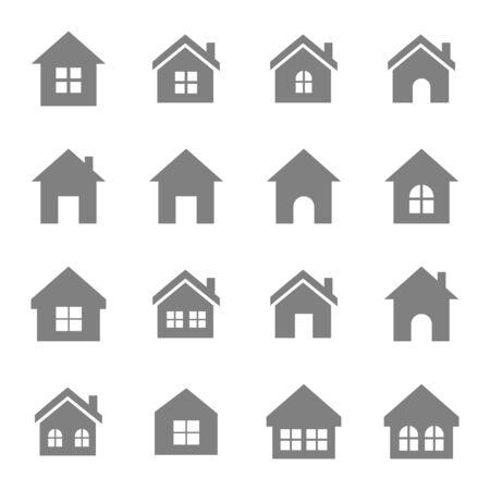 Home-Symbol Vektor-Design-Symbol Vektorgrafik