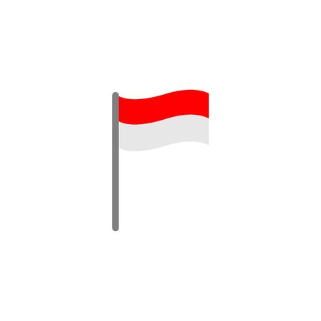 indonesia flags icon vector design symbol of country