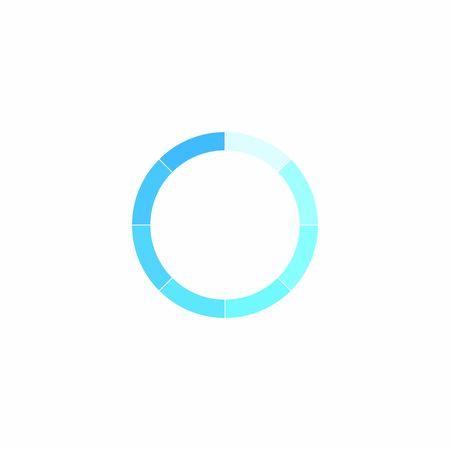 loading icon vector design symbol Illustration