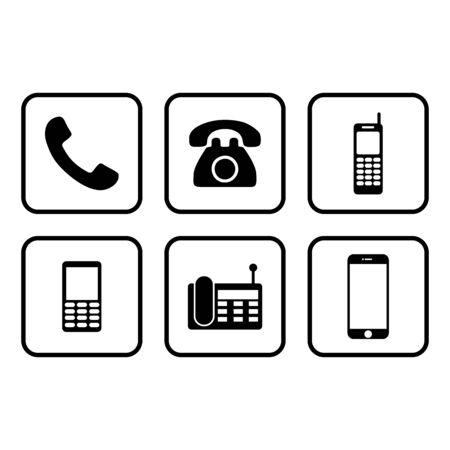 call phone icon. telephone icon vector design symbol