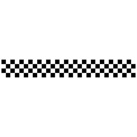 racing flag icon vector design symbol