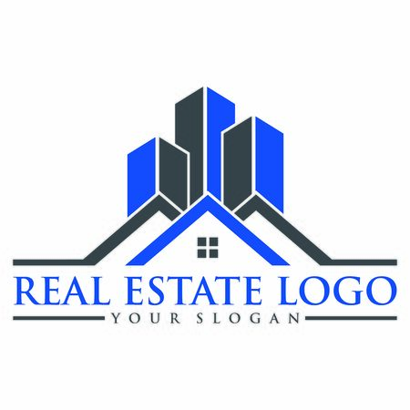 real estate logo vintage keys icon vector design symbol Stock fotó - 142768426
