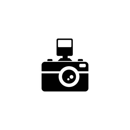 camera, action camera, lens icon vector design symbol
