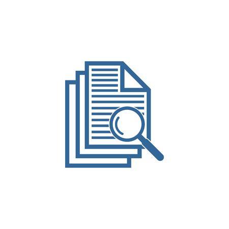 case study icon vector design symbol