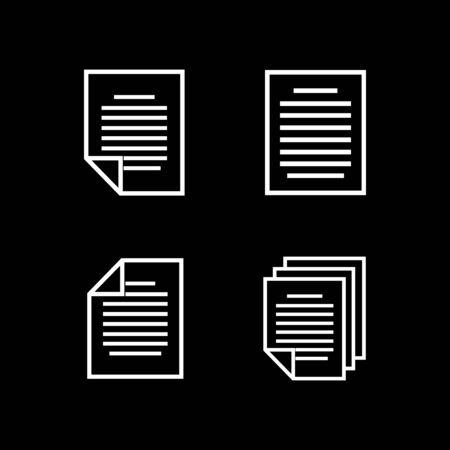 document icon vector design symbol Çizim