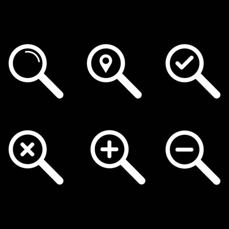 search icon vector design symbol