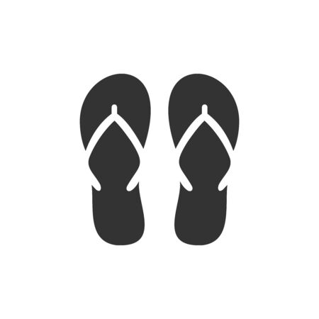 slipper icon vector design symbol