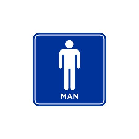 toilet sign icon vector design symbol 일러스트