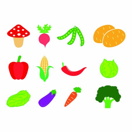 vegetable icon vector design symbol