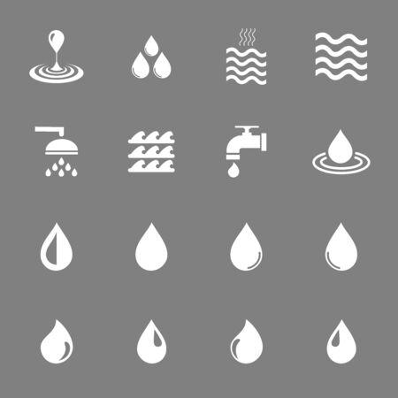 water icon vector design symbol